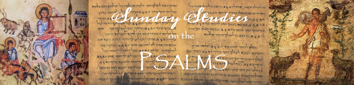 Sunday Psalm Studies: Psalm 4