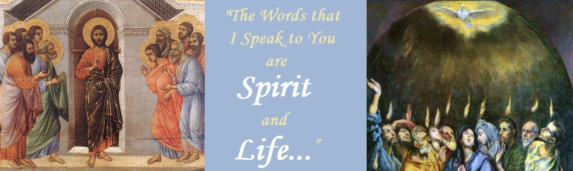 """…Spirit and Life"": 1 John 5:6-8 (continued)"