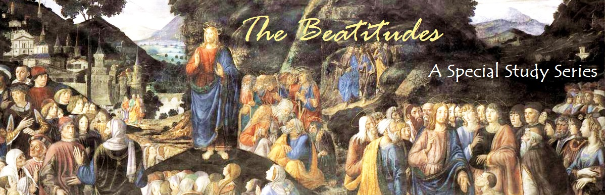 The Beatitudes: Matthew 5:3